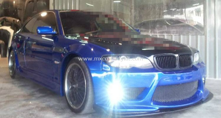 BMW E46 2000-2005 NEW MODEL J-EMOTION DESIGN WIDEBODY BODYKIT + SPOILER