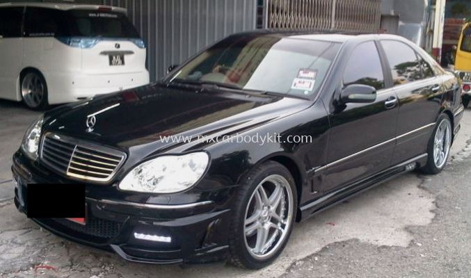 MERCEDES BENZ W220 BLACKBISONSTYLE DESIGN FULL SET BODYKIT + SPOILER