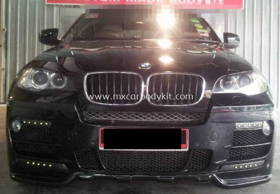 BMW X6 E71 2010 HAMANN STYLE DESIGN FULL SET BODYKIT + SPOILER