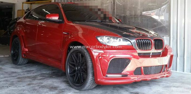 BMW X6 E71 2010 HAMANN TYCOON EVO STYLE DESIGN WIDE BODY FULL SET BODYKIT + SPOILER