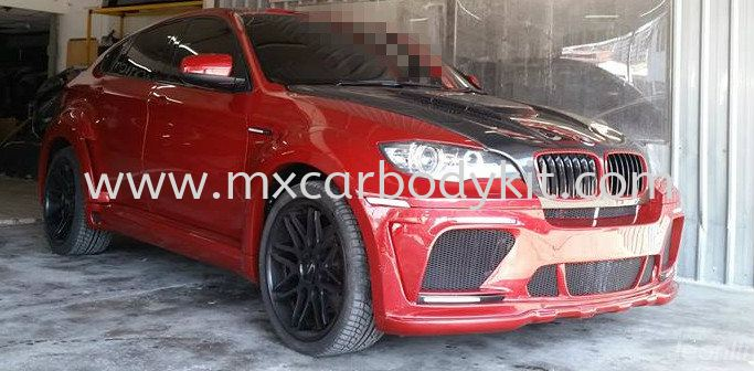 BMW X6 E71 2010 HAMANN TYCOON EVO STYLE DESIGN WIDE BODY FULL SET BODYKIT + SPOILER E71 (X6 SERIES) BMW