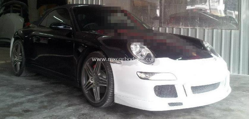 PORSCHE CARRERA 997 GT3 FULL SET BODYKIT + SPOILER