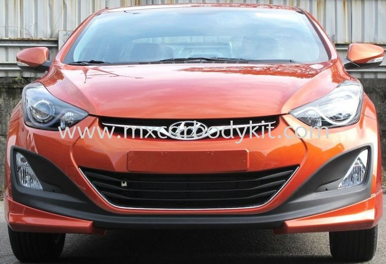 HYUNDAI ELANTRA 2015 IXION DESIGN BODY KIT + SPOILER  ELANTRA 2015 HYUNDAI