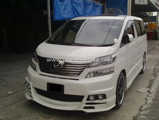 TOYOTA VELLFIRE 2008-11 BLACKBISON FULL SET BODYKIT