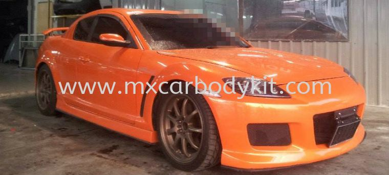 MAZDA RX8 MAZDA SPEED FULL SET BODYKIT + SPOILER RX8 MAZDA