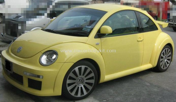 VOLKSWAGEN BEETLE 2001 J-EMOTION DESIGN FULL SET BODYKIT + SPOILER