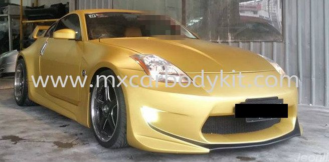 NISSAN FAIRLADY Z33 CONVERT AMUSE STYLE FULL SET WIDEBODY + SPOILER FAIRLADY NISSAN
