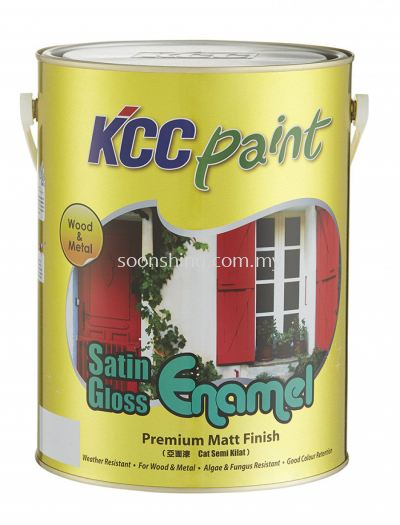 SATIN-GLOSS ENAMEL