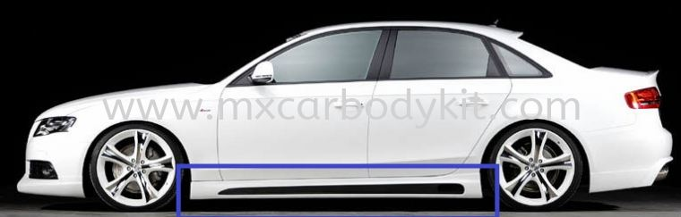 AUDI A4 B8 2008-13 RIEGER STYLE SIDE SKIRT A4 AUDI