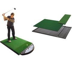 Single Sided Golf Mat System