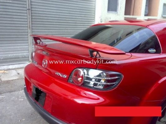 MAZDA RX8 MAZDA SPEED REAR SPOILER