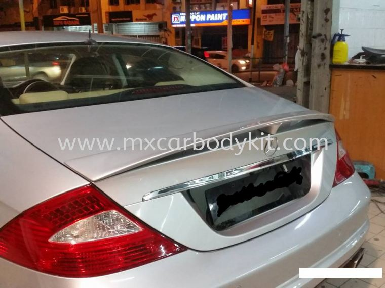 MERCEDES BENZ W219 CLS REAR SPOILER W219 MERCEDES BENZ