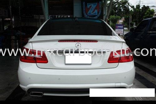 MERCEDES BENZ W207 REAR SPOILER W207 MERCEDES BENZ