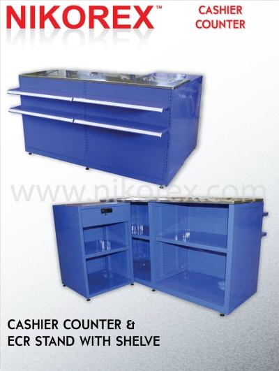 25185-150LX82HX50D C/COUNTER C/W 6 SHELF & ECR STAND