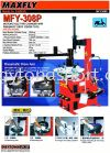 MFY308P Motorcycle Tyre Changer Maxfly Machine