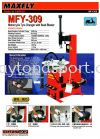MFY309 Motorcycle Tyre Changer Maxfly Machine