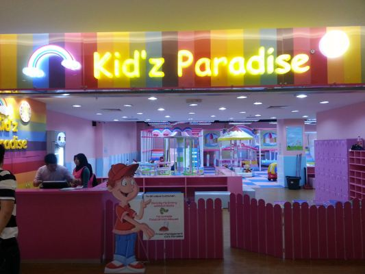 Indoor LED Sign - Kid'z Paradise