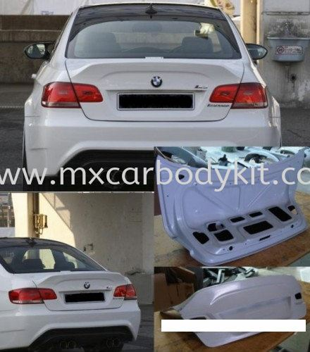 BMW E92 M3 ERIESSONSTYLE DESIGN REAR BONNET E92 (3 SERIES) BMW