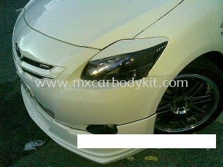 TOYOTA VIOS 2007-2012 TRD DESIGN HEAD LAMP EYE LIP