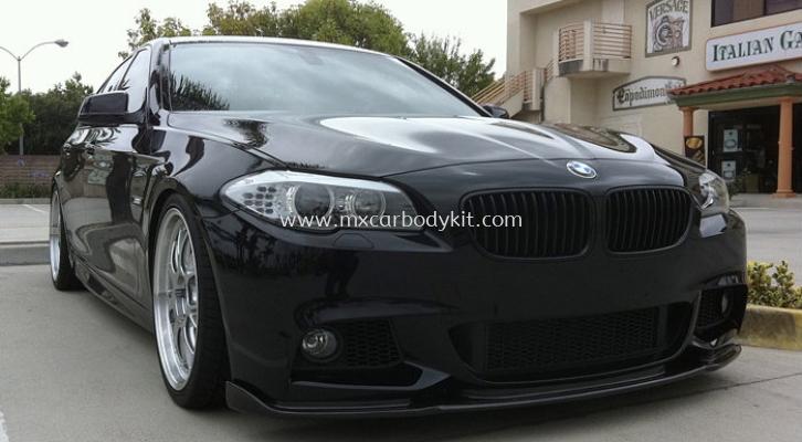 BMW F10 M-SPORT HAMANN STYLE DESIGN FRONT BUMPER LIPS