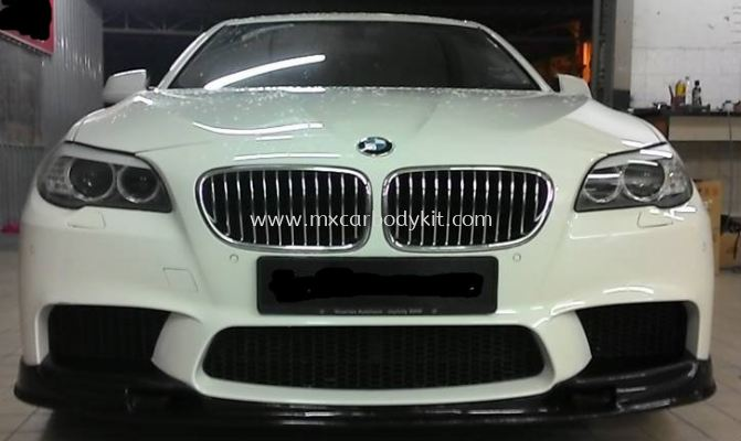 BMW F10 M5 3DESIGN STYLE FRONT BUMPER LIPS