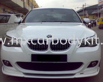 BMW E60 HAMANN STYLE DESIGN M-SPORT BUMPER FRONT LIPS E60 (5 SERIES) BMW