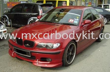 BMW E46 2003 M-SPORT AC DESIGN FRONT BUMPER LIPS E46 (3 SERIES) BMW