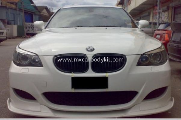 BMW E60 M5 J-EMOTION DESIGN FRONT BUMPER LIPS