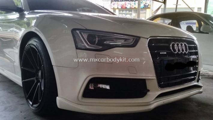 AUDI A5/S5 2012 J-EMOTION DESIGN FRONT BUMPER LIPS