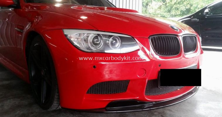 BMW E90 J-EMOTION DESIGN CUSTOM M3 FRONT BUMPER LIPS