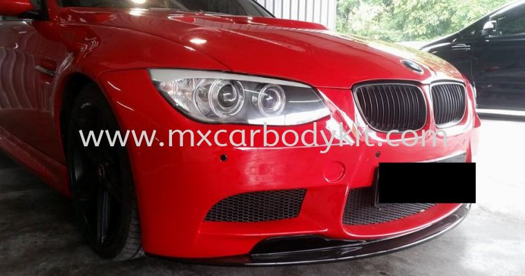 BMW E90 J-EMOTION DESIGN CUSTOM M3 FRONT BUMPER LIPS E90 BMW