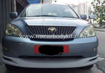 TOYOTA HARRIER 2003 OEM DESIGN FRONT SKIRT
