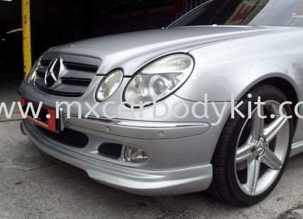 MERCEDES BENZ W211 J-EMOTION FRONT SKIRT W211 (E CLASS) MERCEDES BENZ