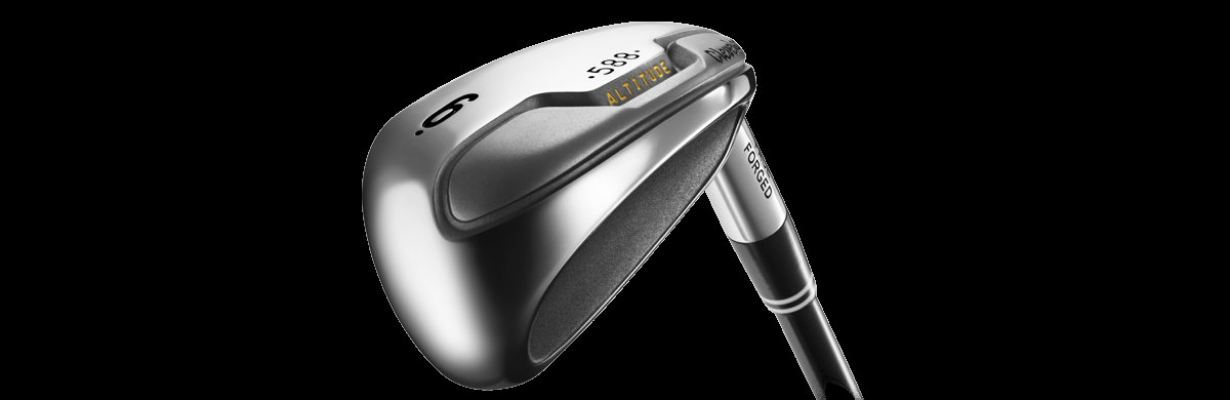 Cleveland Golf Mens 588 HYBRID FORGED Steel  Altitude Package Full Mens Set