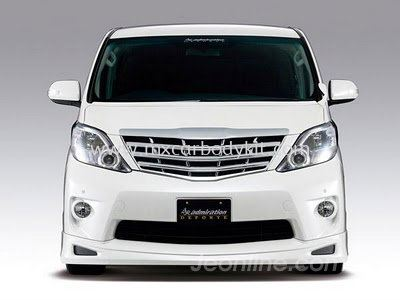 TOYOTA ALPHARD 2008-11 Z-MODEL ADMIRATION DESIGN FRONT SKIRT