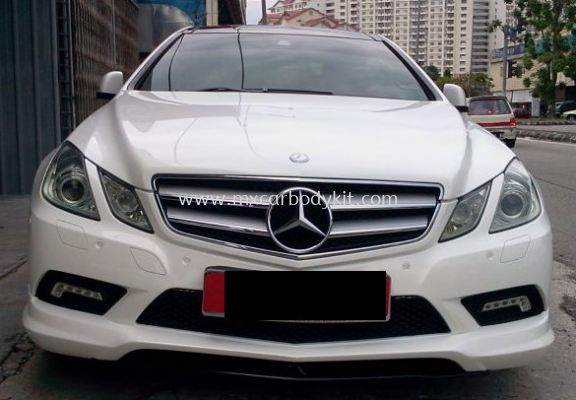 MERCEDES BENZ W207 FRONT SKIRT FOR AMG BUMPER
