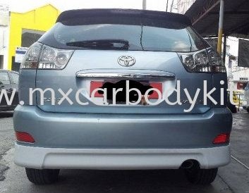 TOYOTA HARRIER 2003 OEM DESIGN REAR SKIRT HARRIER 2003 TOYOTA Johor, Malaysia, Johor Bahru (JB), Masai. Supplier, Suppliers, Supply, Supplies | MX Car Body Kit