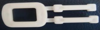 PVC Buckle(White) Packing Band