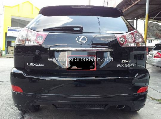 TOYOTA HARRIER 2003-08 ZEUS DESIGN REAR SKIRT