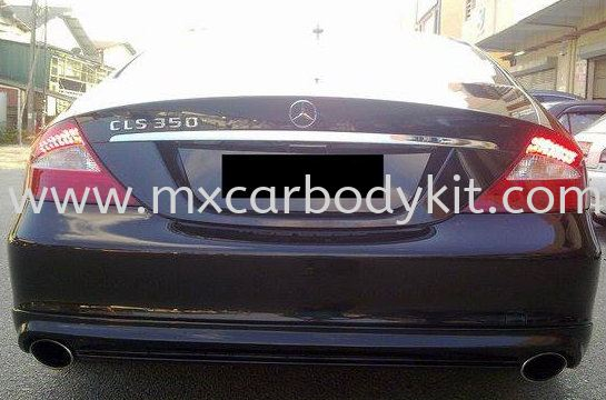 MERCEDES BENZ W219 CLS WALDDESIGN REAR SKIRT W219 MERCEDES BENZ