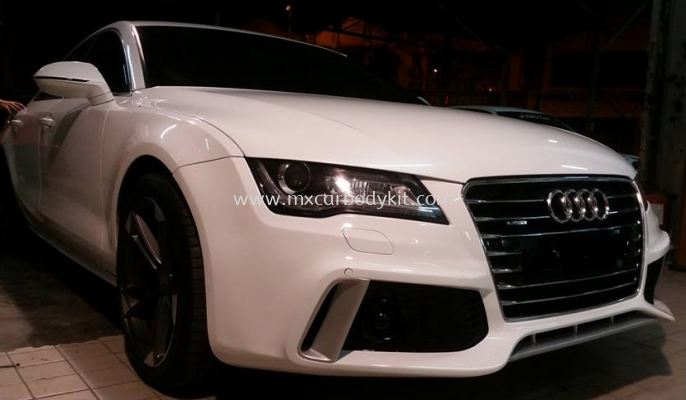 AUDI A7 TYPE 4G RS7 CARACTERE FRONT BUMPER
