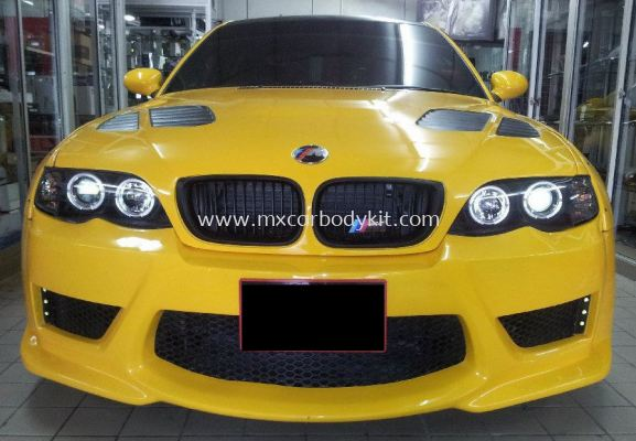 BMW E46 J-EMOTION DESIGN FRONT BUMPER