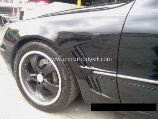 MERCEDES BENZ W220 FRONT FENDER COVER