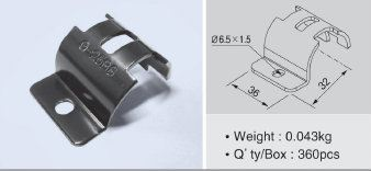 G-25BS Piece Metal Joints