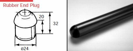 EF1201 Rubber End Plug Plastic Joints