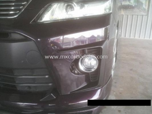 TOYOTA VELLFIRE 2012 J-EMOTION DESIGN FRONT BUMPER COVER