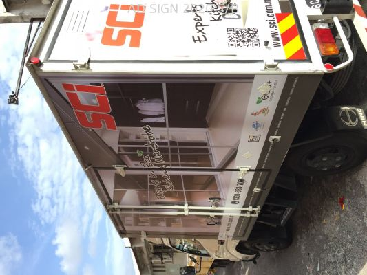 lorry sticker SCI Cabinet