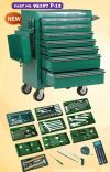 SATA 213PCS 7 DRAWER TOOL TROLLEY SET 95107P-12  Garage Equipment