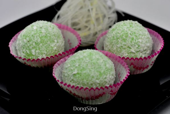 BING-PI GRATED COCONUT BALL 冰皮椰丝球