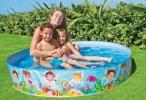 "INTEX BEACH DAYS SNAPSET 5'X10"" POOL (56451) Pool Intex"